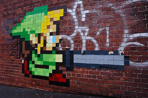 50 Geeky Street Art Pieces Brimming With Awesomeness