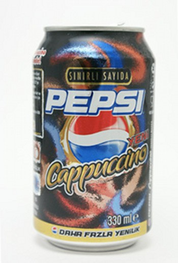 Pepsi Cappuccino (Russia and Romania)