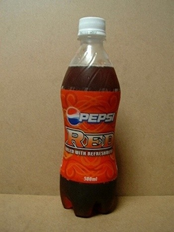 Pepsi Red - spicy ginger (Japan)