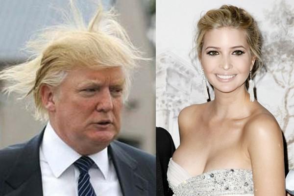 Donald Trump --> Ivanka Trump