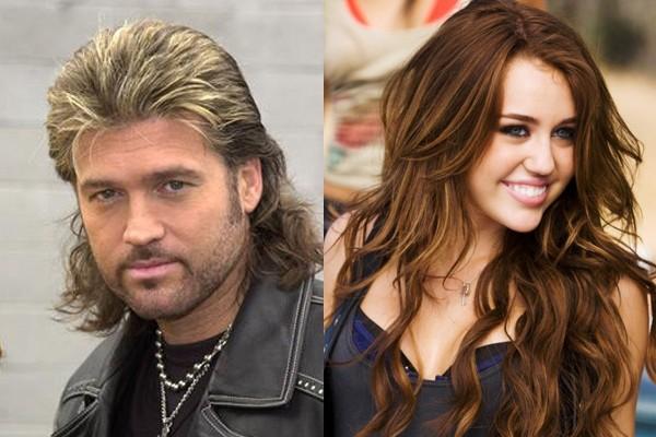 Billy Ray Cyrus --> Miley Cyrus