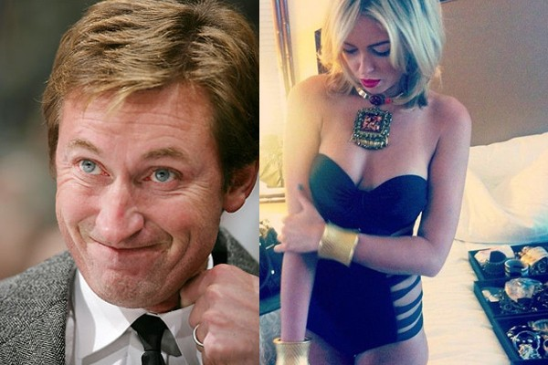 Wayne Gretzky --> Paulina Gretzky