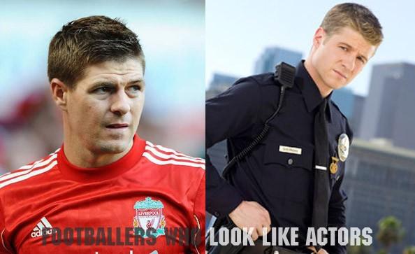 Midfield: Steven Gerrard (England) / Benjamin McKenzie