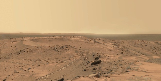 This Incredible Panorama Of Mars' Landscape