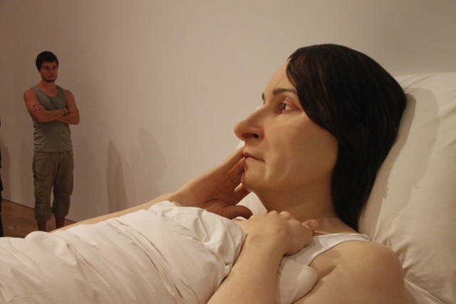 142. Back To Brisbane - GOMA - Ron Mueck
