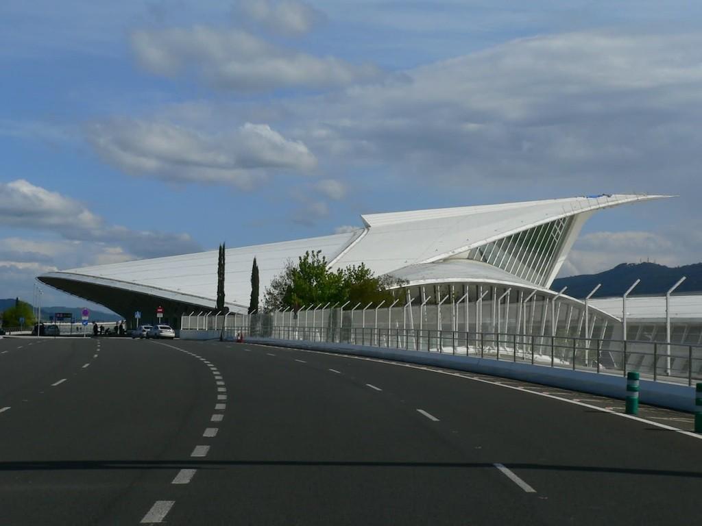 Santiago Calatrava, Aeroporto Sondika di Bilbao