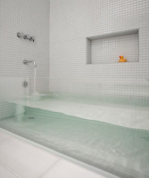 vasca trasparente
