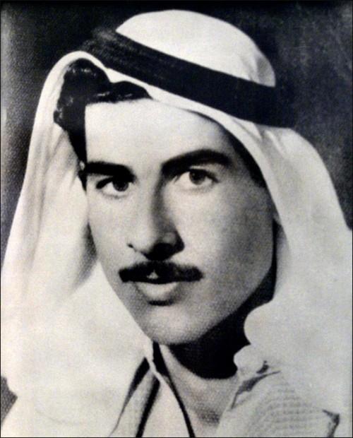 Saddam hussein giovane young