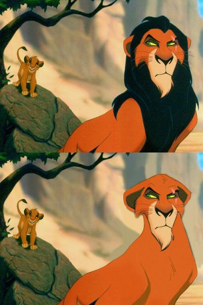 Zio Scar - Il re leone