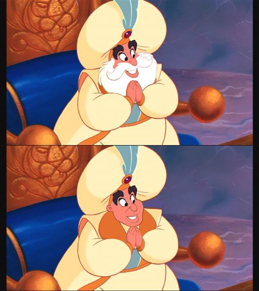 Il sultano - Aladdin