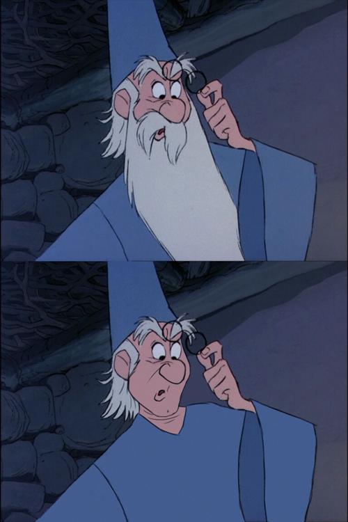 Mago Merglino - La spada nella roccia