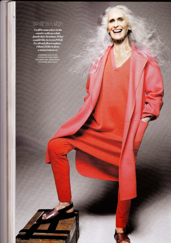 Daphne Selfe Red magazine