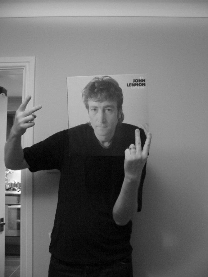 John Lennon Les johnson