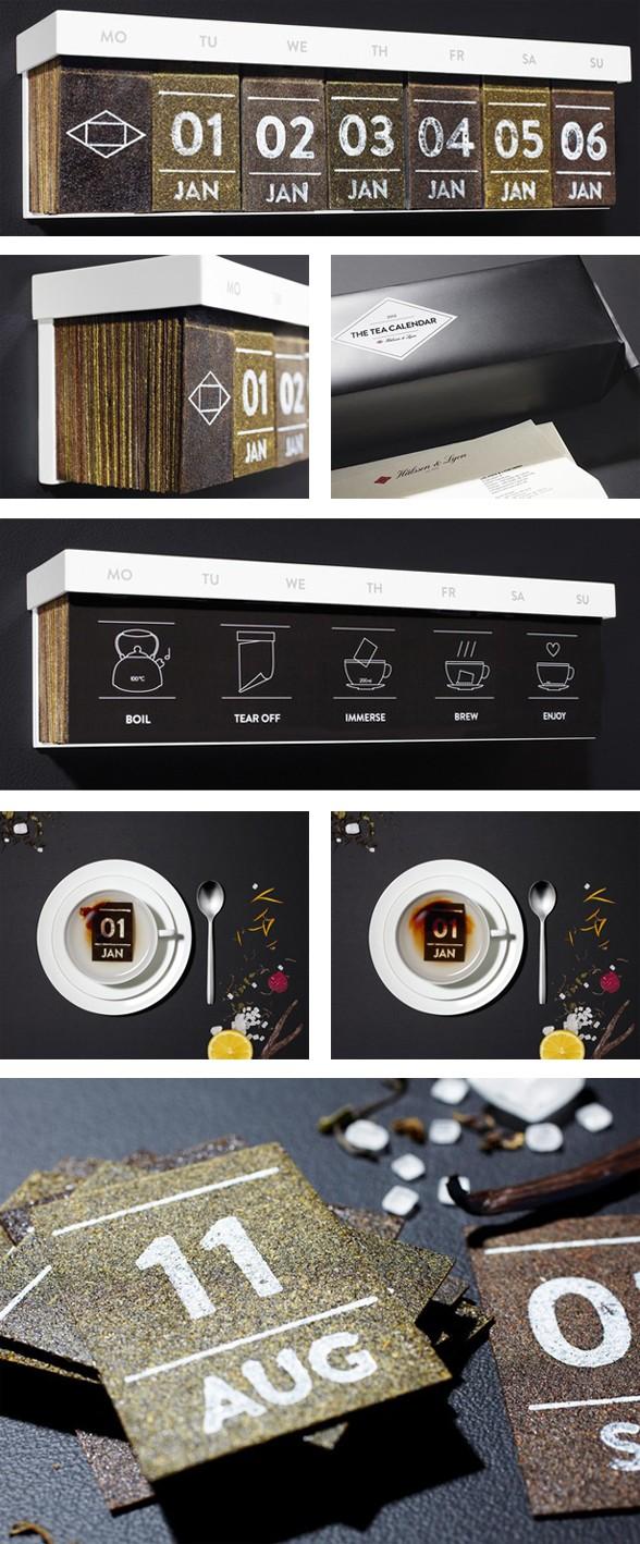calendario del tè