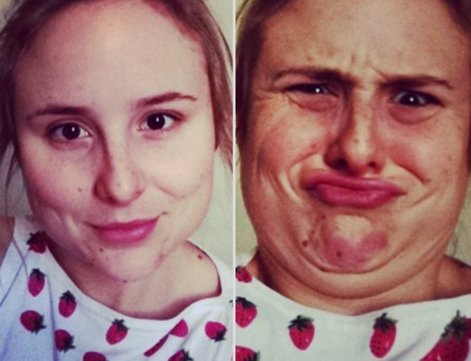 pretty girls making ugly faces 2  880