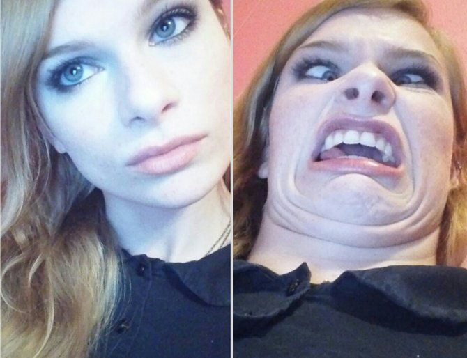 pretty girls making ugly faces 5  880