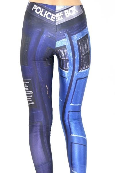 wtf leggings doctor who
