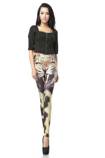 wtf leggings leopard