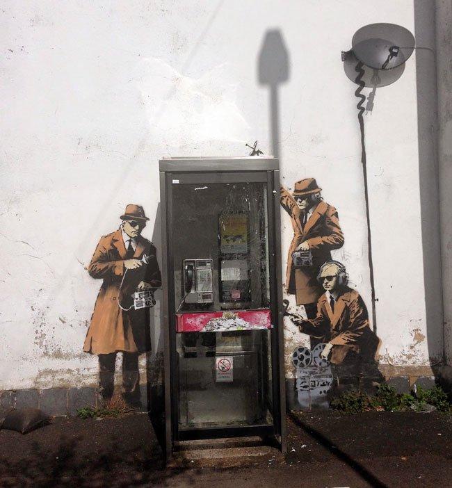 Banksy Cheltenham 2