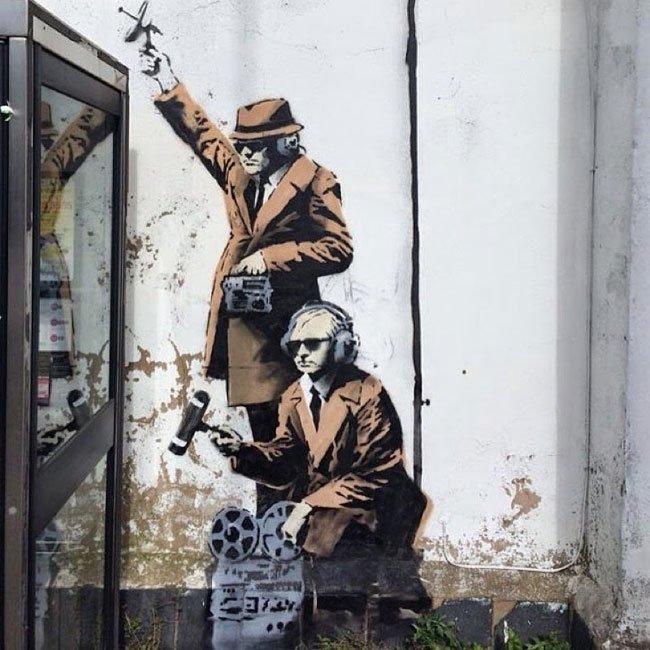 Banksy Cheltenham 3