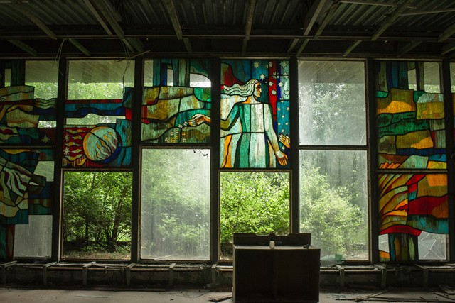 Chernobyl-stainedglass