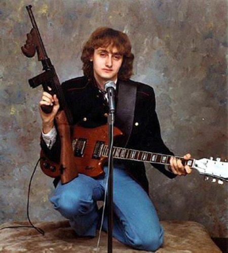 badass fails tommy gun guitar