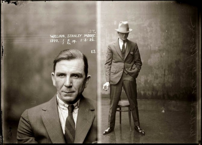 vintage mugshots black and white 17