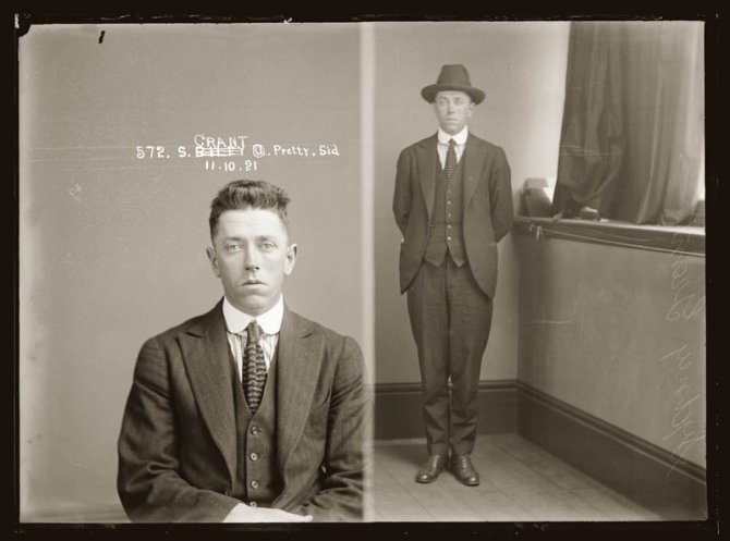 vintage mugshots black and white 22