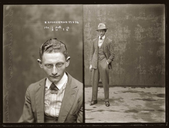 vintage mugshots black and white 24