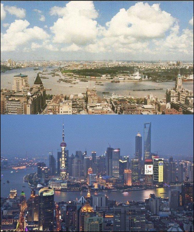 01 evolution shanghai1990vs2010 670x800