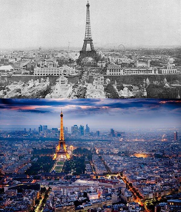11 evolution paris france