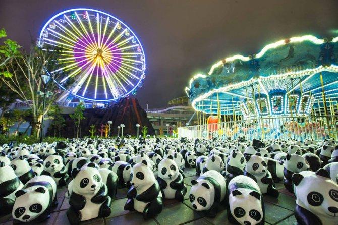 1600 pandas in hong kong designboom 02