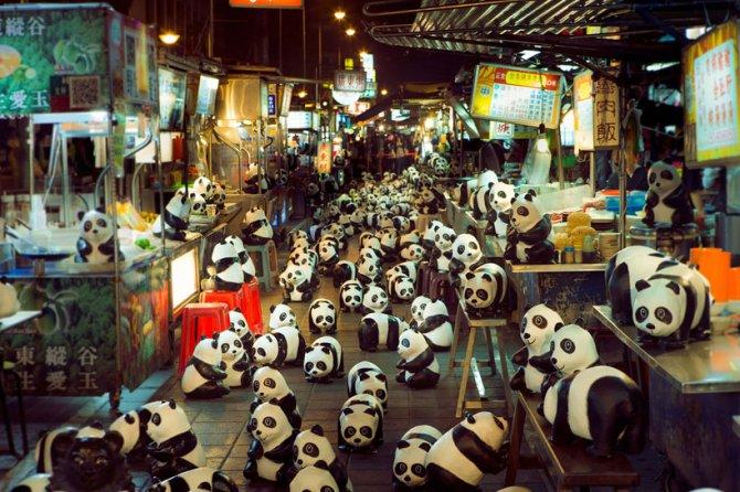 1600 pandas in hong kong designboom 04