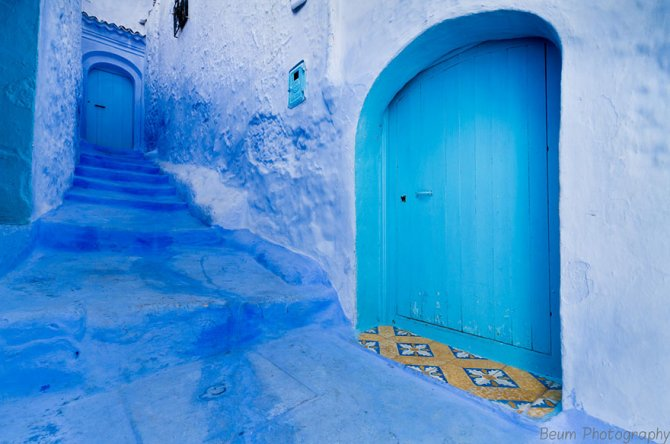 blue streets of chefchaouen morocco 10