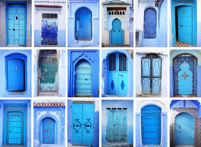 blue streets of chefchaouen morocco 16