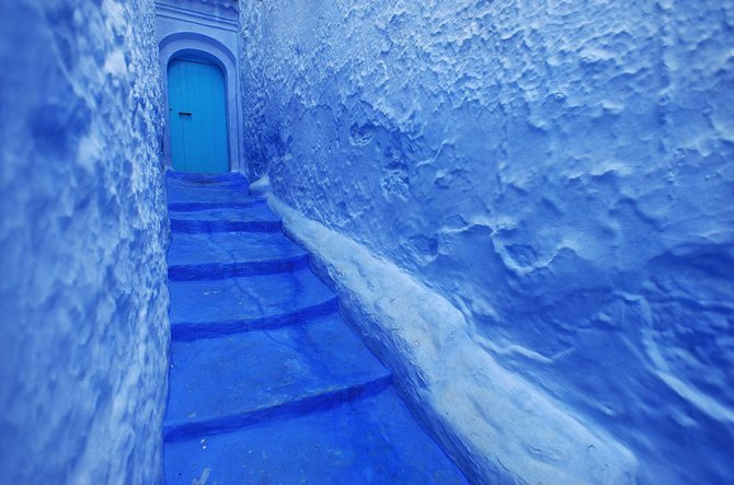 blue streets of chefchaouen morocco 6