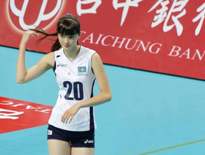 Innamorarsi di prima mattina di una giocatrice di pallavolo: Sabina Altynbekova
