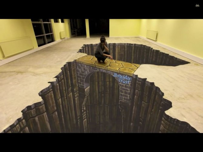 20 Awesome 3D Street Art Illusions10  880