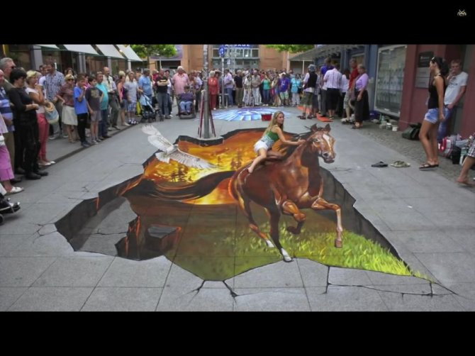 20 Awesome 3D Street Art Illusions14  880