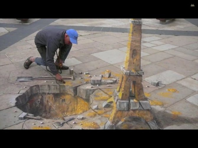 20 Awesome 3D Street Art Illusions16  880
