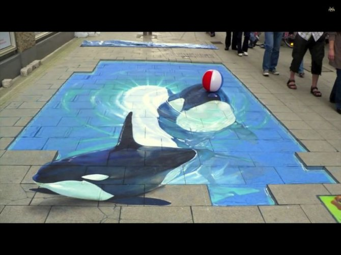 20 Awesome 3D Street Art Illusions3  880