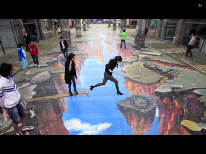 20 Awesome 3D Street Art Illusions6  880