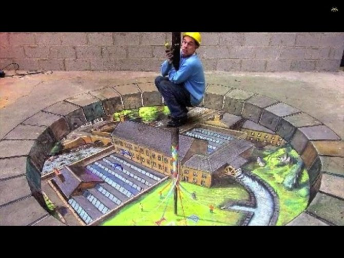 20 Awesome 3D Street Art Illusions7  880