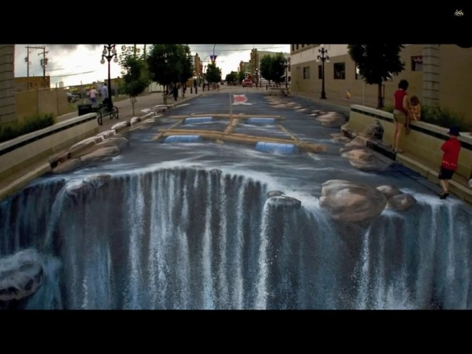 20 Awesome 3D Street Art Illusions8  880