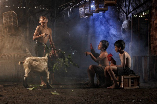 Life In Indonesian Villages Captured by Herman Damar 18 640x426