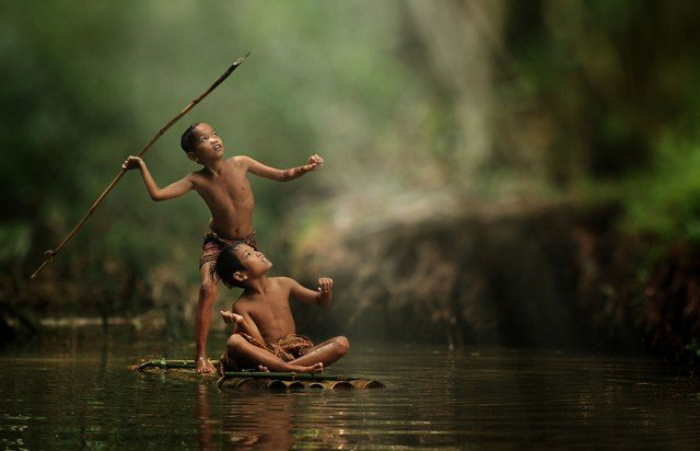 Life In Indonesian Villages Captured by Herman Damar 3 640x412