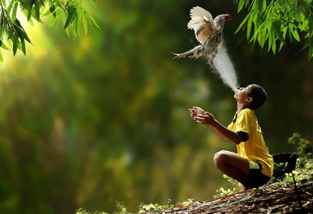Life In Indonesian Villages Captured by Herman Damar 5 640x439