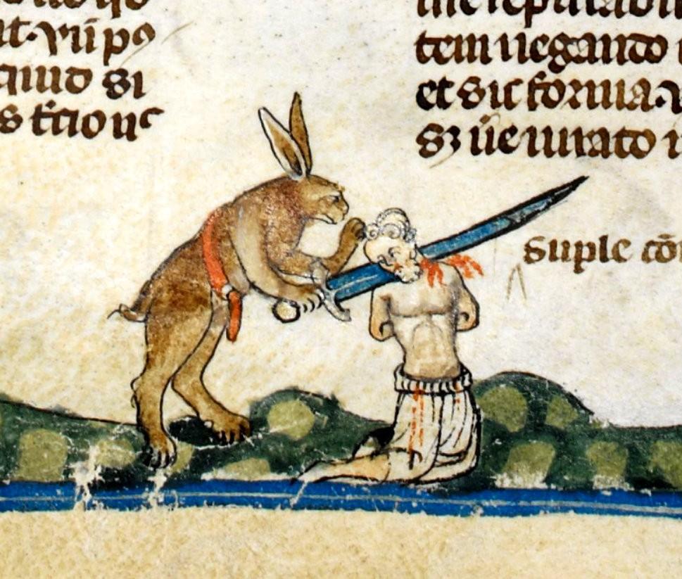 dailybest « Coniglietti killer nascosti nelle pagine di antichi libri ... Streetart
