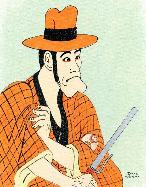 Ukiyoe Character series 13