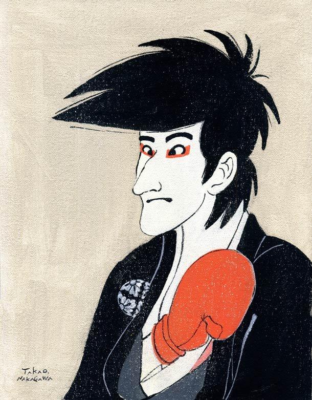 Ukiyoe Character series 17